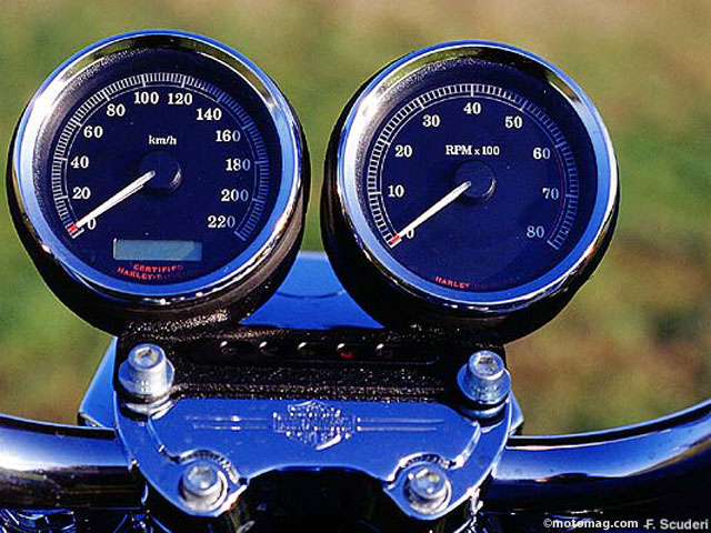 harleydavidson xl 1200 sportster moto magazine leader