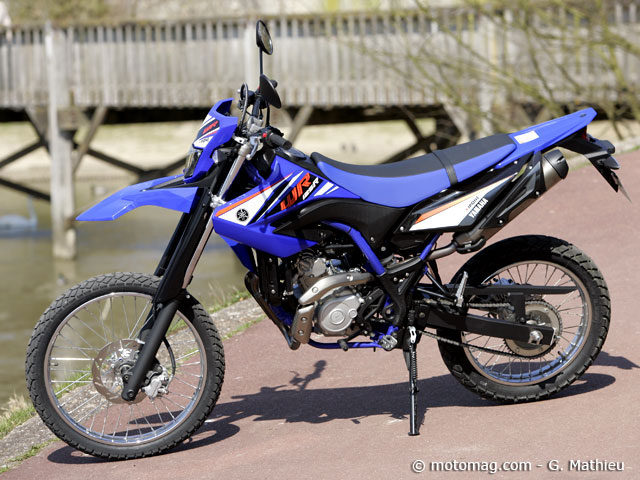 yamaha wr 125 r yamaha wr 125 r bilder und technische. Black Bedroom Furniture Sets. Home Design Ideas