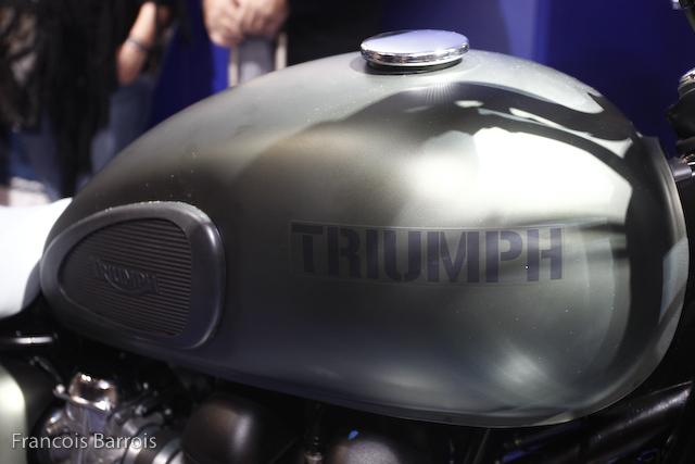 Milan Nouveaut 233 Moto Triumph T100 Quot Steve Mcqueen