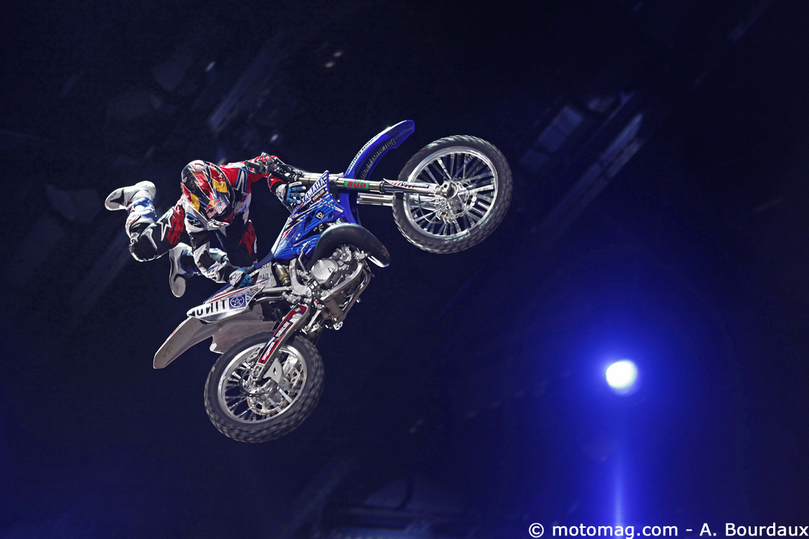 Supercross de Bercy : tricks de Pagès