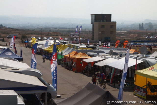 Supermoto des Nations 2011 : circuit d'Aragon