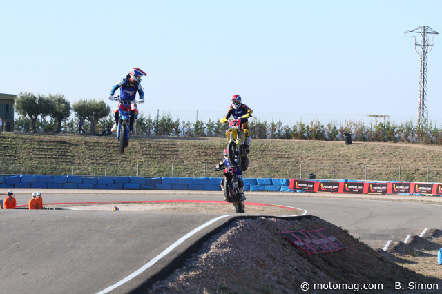Supermoto des Nations 2011 : la table bitumée