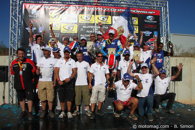 Supermoto des Nations 2011 : l'équipe de France
