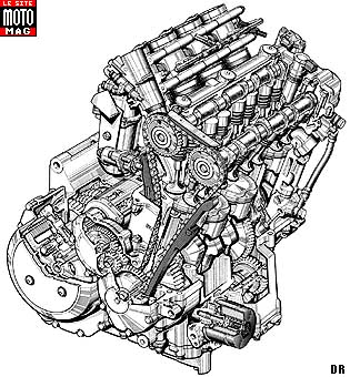 suzuki motorcycle engine diagram suzuki 1300 gsx r hayabusa - moto magazine - leader de l ... c90 suzuki motorcycle wiring diagram