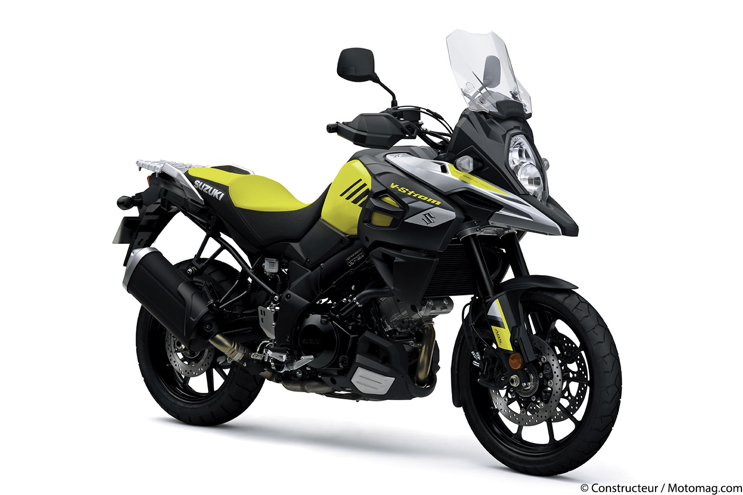 Suzuki V-Strom 1000 : des innovations en 2017