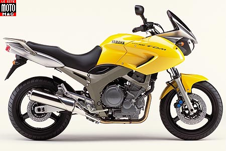 Yamaha 900 TDM : version canarie