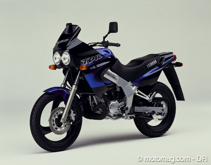 moto yamaha tdr