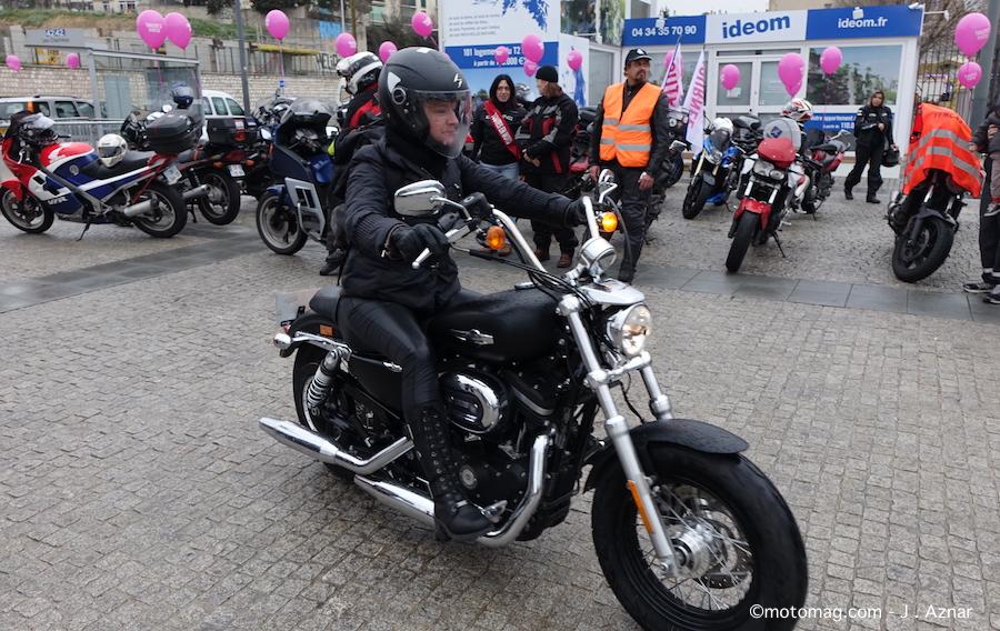 200 motardes d filent toutes en moto marseille moto magazine leader de l actualit de. Black Bedroom Furniture Sets. Home Design Ideas
