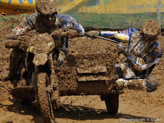 GP side-car cross : c'est Woodstock !