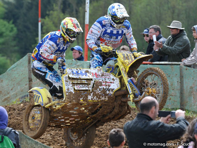 GP side-car cross : le roi Villemsen
