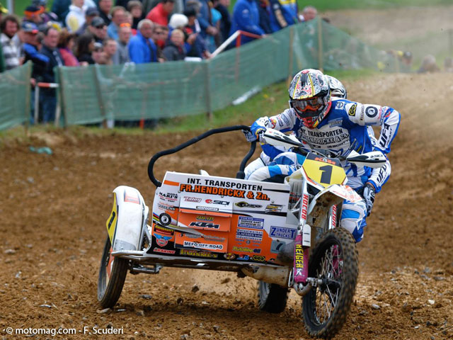 GP side-car cross : les champions