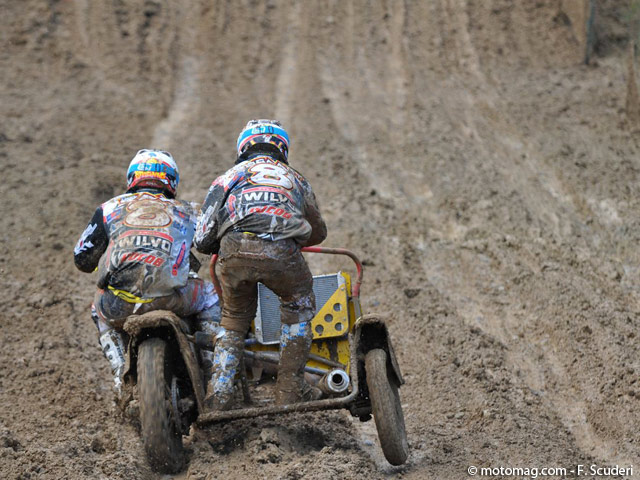 GP side-car cross : le grand huit