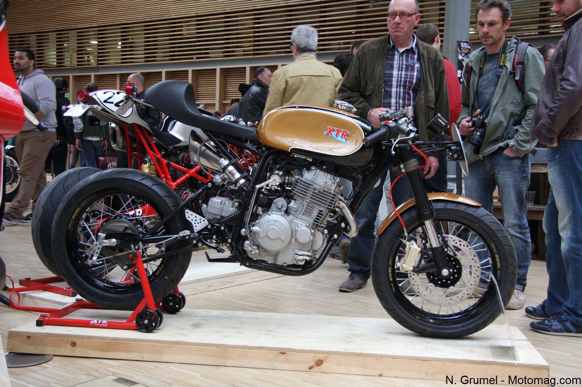 the bike shed paris s 39 enflamme pour la moto vintage et moto magazine leader de l. Black Bedroom Furniture Sets. Home Design Ideas