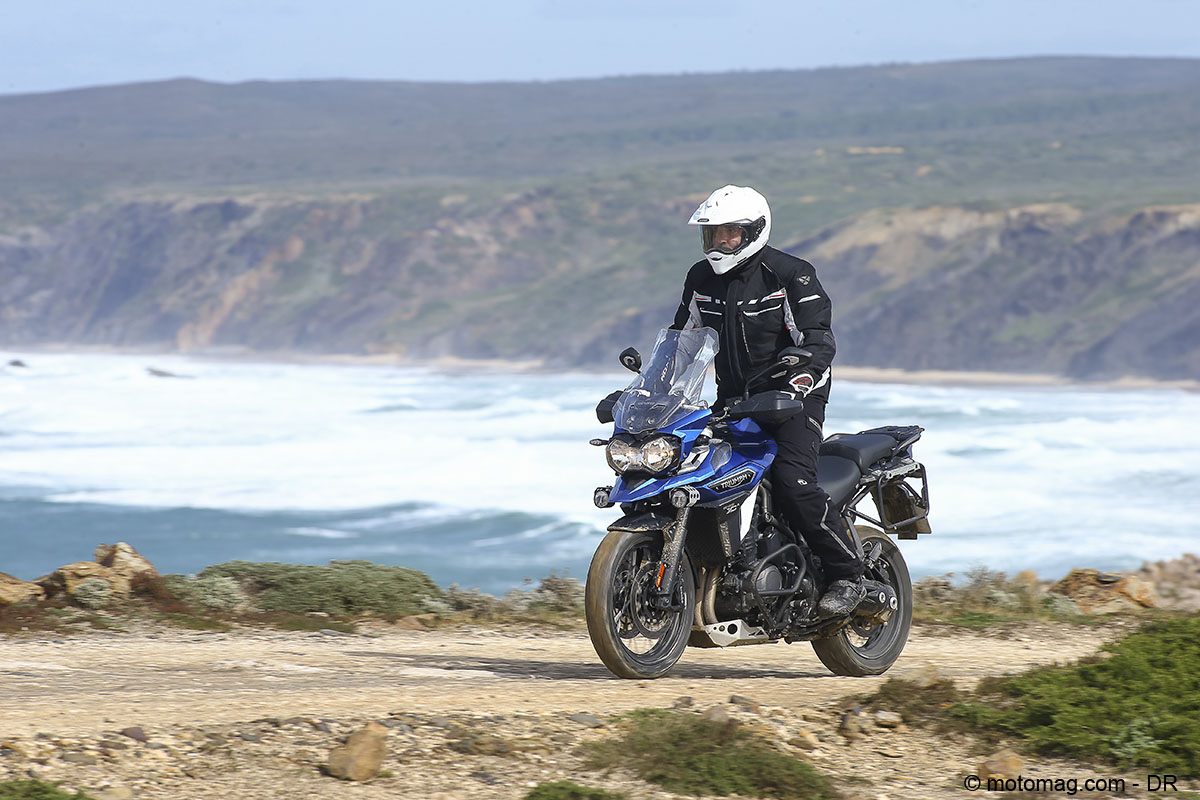 Triumph 1200 Tiger Explorer : off road