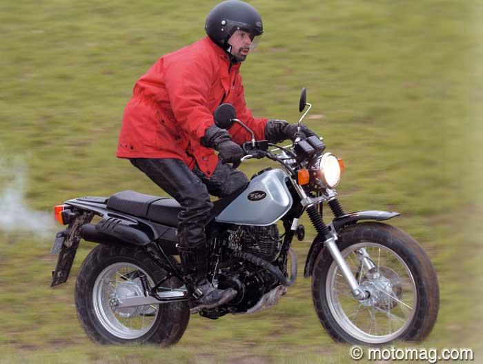 moto yamaha 125 tw