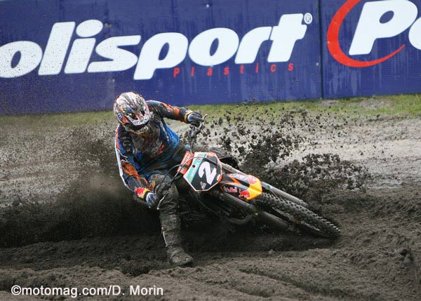 Tommy Searle au pied du podium