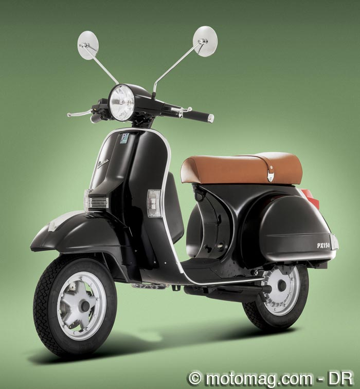 forum motomag sujet piaggio vespa px 125 la l gende. Black Bedroom Furniture Sets. Home Design Ideas