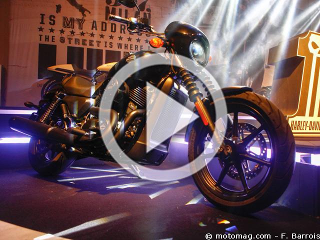 nouveaut s moto 2014 harley davidson street 750 et moto magazine leader de l. Black Bedroom Furniture Sets. Home Design Ideas