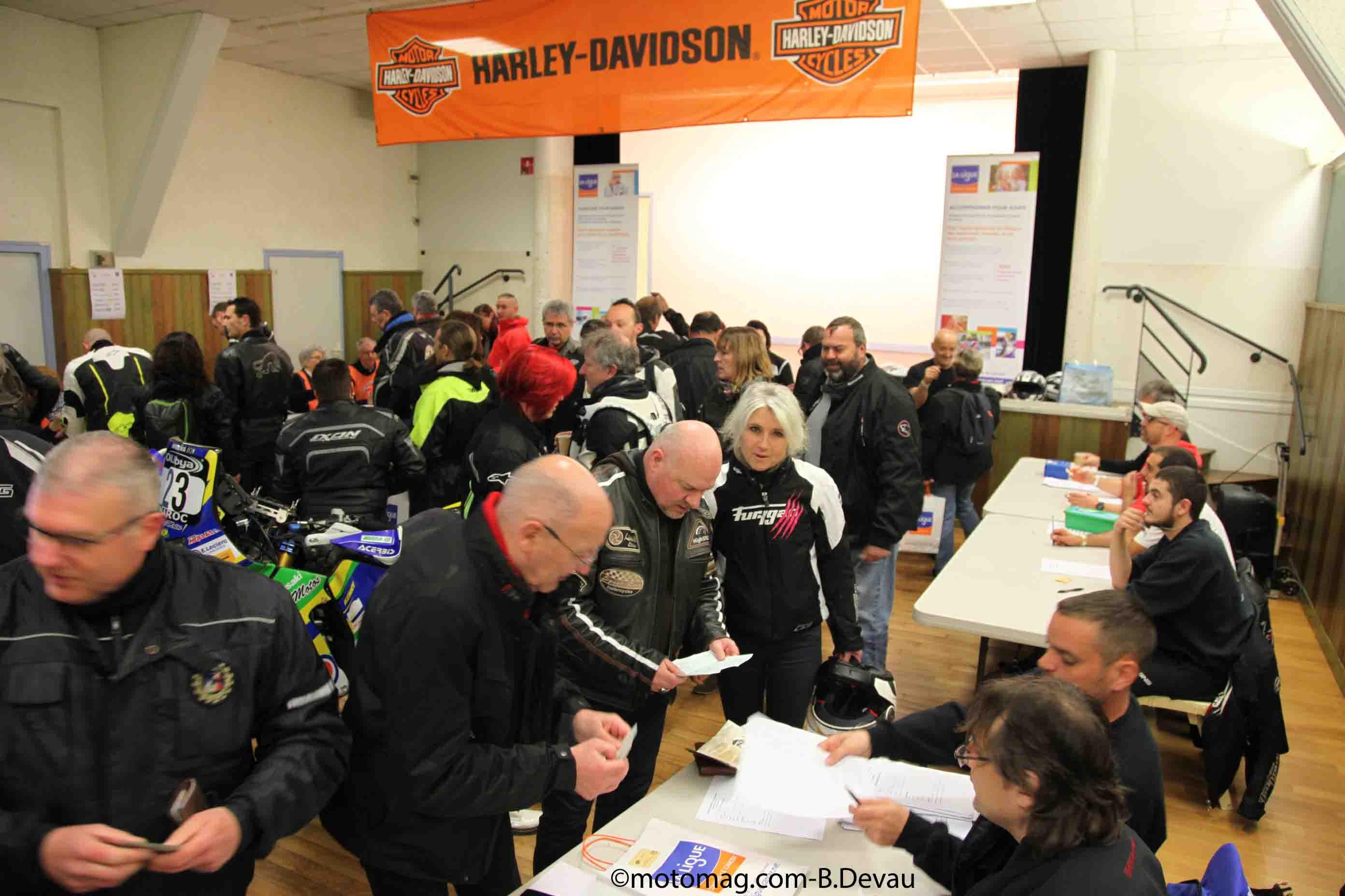 Belle r colte de dons pour les motards contre le moto magazine leader de l actualit - Bureau des contributions ...