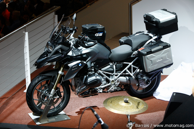 BMW R 1200 GS « Water Cooled » : baroudeuse