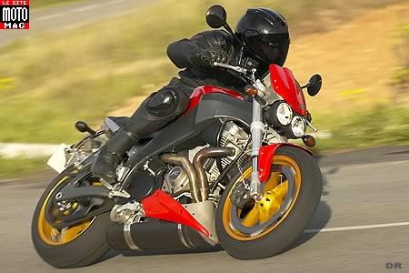 buell 1200 xb 12 s lightning moto magazine leader de l. Black Bedroom Furniture Sets. Home Design Ideas