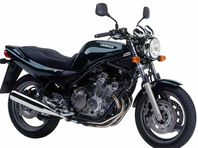 moto yamaha 600 diversion