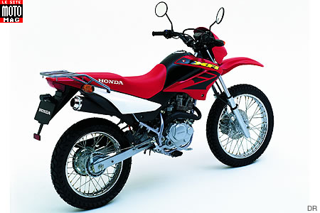 honda 125 xr l moto magazine leader de l actualit de la moto et du motard. Black Bedroom Furniture Sets. Home Design Ideas