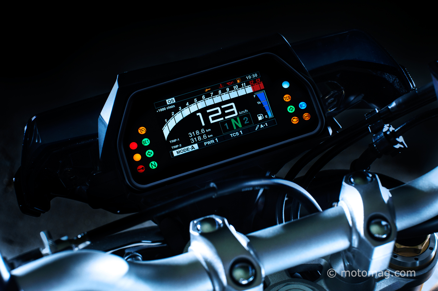 Nouveautés Yamaha 2017 : évolutions pour les MT-09 et ...