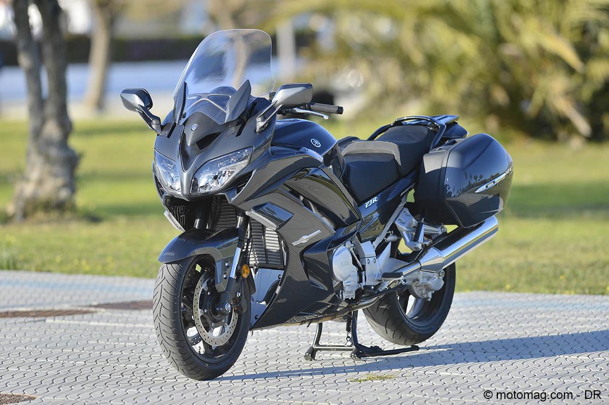 yamaha fjr 1300 ae coureuse de fond moto magazine leader de l actualit de la moto et du. Black Bedroom Furniture Sets. Home Design Ideas