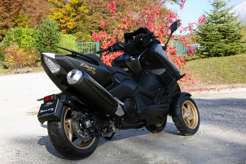 Lazareth Présente Le Mt3 Un Scooter Yamaha Tmax Moto