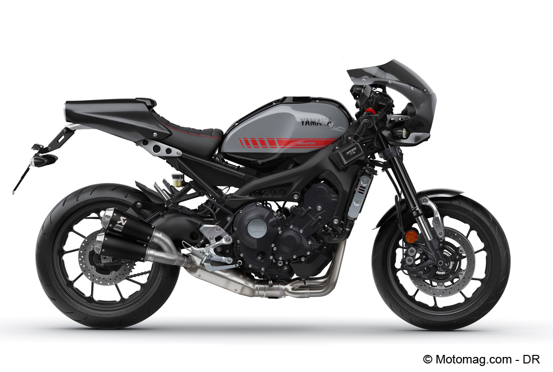 yamaha xsr 900 abarth en s rie limit e moto magazine leader de l actualit de la moto et du. Black Bedroom Furniture Sets. Home Design Ideas