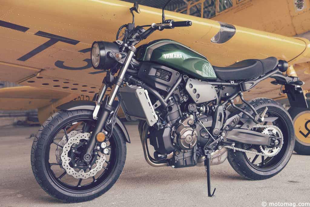 Nouveauté moto 2016 : Yamaha XSR 700, une MT-07 à la sauce ...