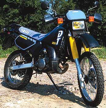 moto yamaha dt 125 occasion