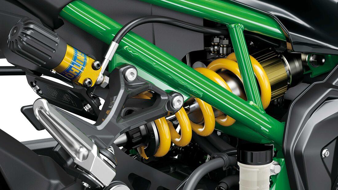 Kawasaki prépare une version SE pour sa Z900