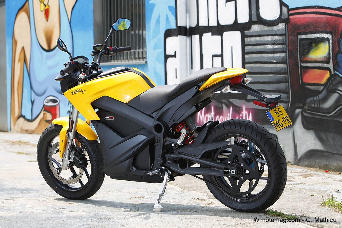 zero s zf13 0 11kw une 125 des plus ludiques moto magazine leader de l actualit de la. Black Bedroom Furniture Sets. Home Design Ideas