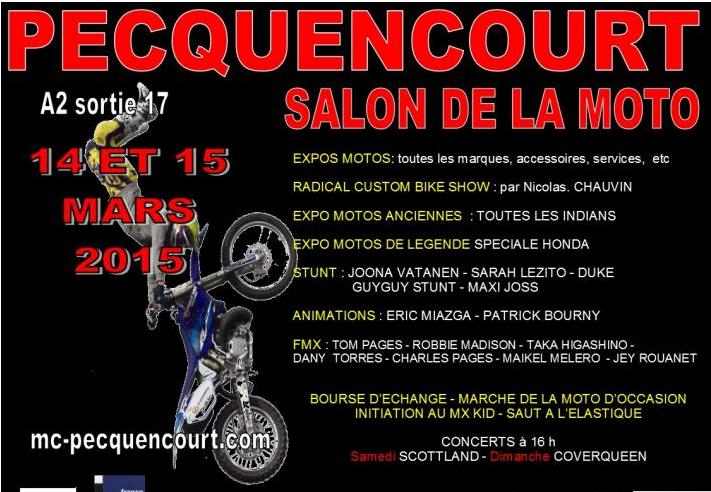 Forum motomag sujet salon de la moto de pecquencourt for Salon de pecquencourt