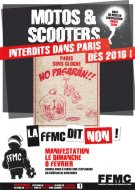 Interdiction de circulation à Paris : manifestation FFMC (...)