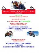 P re no l motard collecte de jouets de la ffmc 65 moto magazine leader de l - Pere noel interactif ...