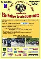 Rallye touristique des tailleurs de brume chartres - Inscription 12 coups de midi numero de telephone ...