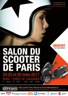Salon du scooter à Paris