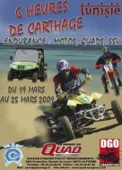 Enduro en Tunisie : 6H de Carthage, 1re édition