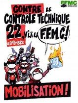 manifestations anti contr le technique du 22 septembre moto magazine leader de l. Black Bedroom Furniture Sets. Home Design Ideas
