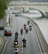 Interdiction à Paris : les associations de motards (...)