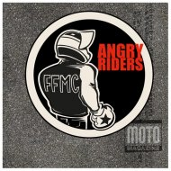 "Lot de 2 stickers FFMC ""Angry Riders"""