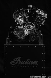 Indian Scout Sixty : moteur moderne