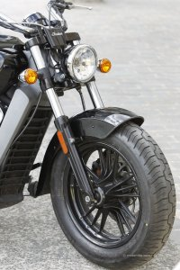 Indian Scout : fourche trop souple