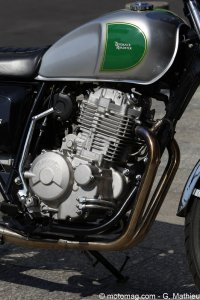 Mash Five Hundred : moteur inspiré du mono Honda