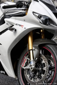 Essai Triumph 675 Daytona R : le plus performant !