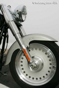 HD 1584 Fat Boy : roue avant