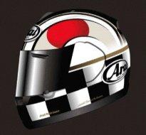Casque moto japonais
